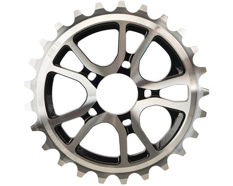 Eclat RS Sprocket (Polished/Black) (28T)