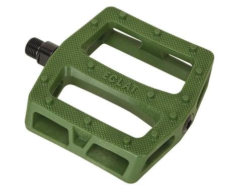 Eclat Seeker Composite Platform Pedals (Army Green)
