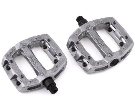 "Eclat Slash Aluminum Platform Pedals (Raw) (9/16"")"