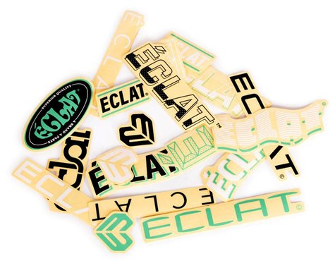 Eclat Frame Sticker Pack, 15 Stickers