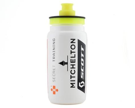 Elite Fly Team Water Bottle (Mitchelton Scott) (White) (550ml)