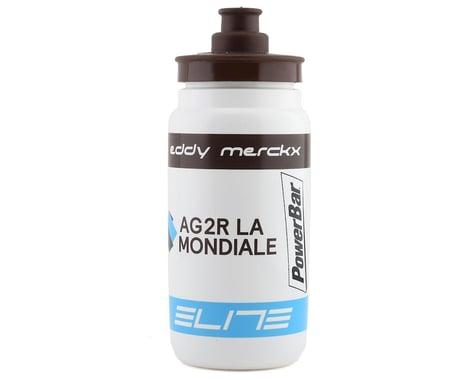 Elite Fly Team Water Bottle (AG2R) (White) (550ml)