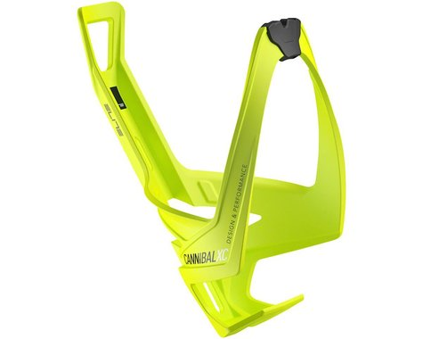Elite Cannibal XC Bottle Cage (Yellow/Black Graphic)