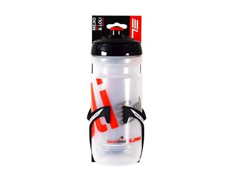 Elite Mejio Water Bottle Cage/Loli 600ml Water Bottle Combo