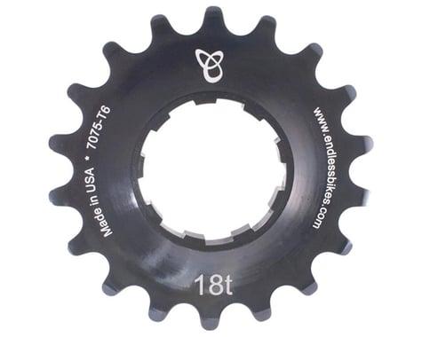 Endless Bike Anodized Kick Ass Cog (Black) (18T)