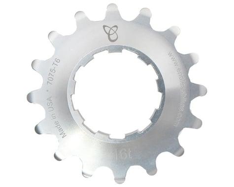 Endless Bike Anodized Kick Ass Cog (Silver) (16T)