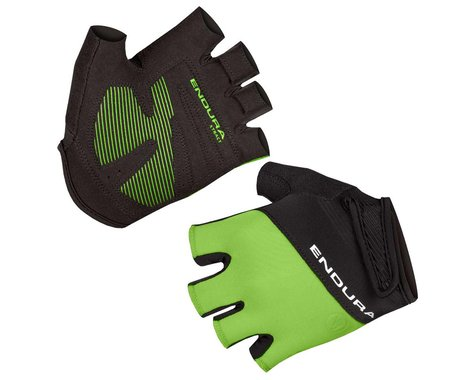 Endura Xtract Mitt II Short Finger Gloves (Hi-Viz Green) (M)