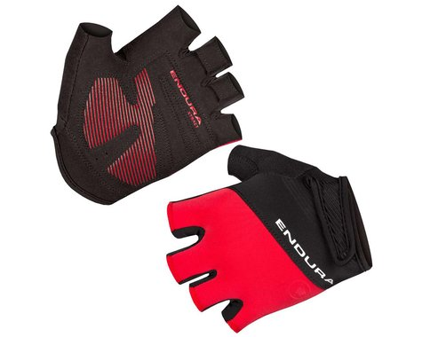Endura Xtract Mitt II Short Finger Gloves (Red) (S)