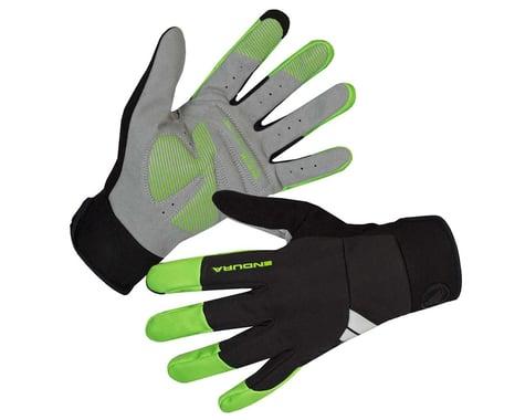 Endura Windchill Gloves (Hi-Viz Green) (M)