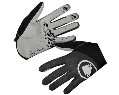 Endura Hummvee Lite Icon Long Finger Gloves (Black) (XL)
