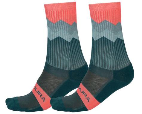 Endura Jagged Sock (Spruce Green) (L/XL)