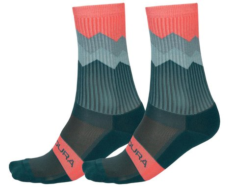 Endura Jagged Sock (Spruce Green) (S/M)