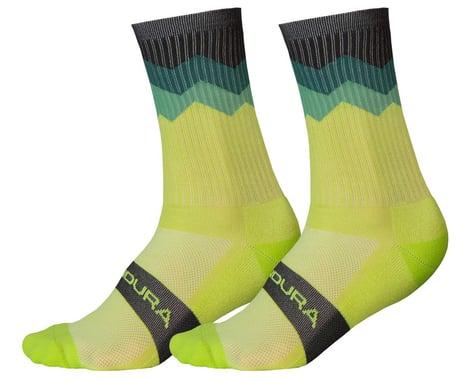 Endura Jagged Sock (Lime Green) (L/XL)