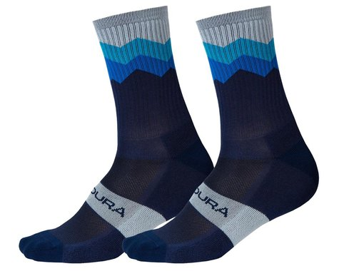 Endura Jagged Sock (Navy) (L/XL)