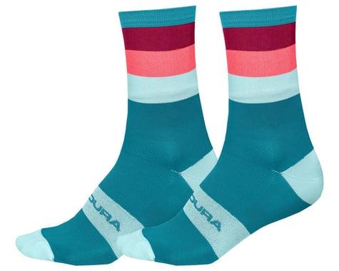 Endura Bandwidth Sock (Blue Paisley) (L/XL)