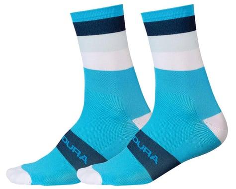 Endura Bandwidth Sock (Hi-Viz Blue) (S/M)
