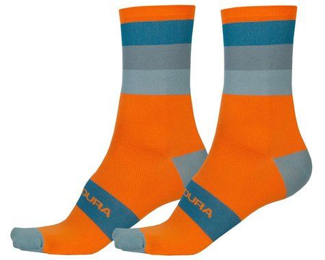 Endura Bandwidth Sock (Pumpkin) (S/M)