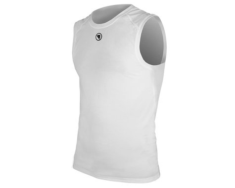 Endura Men's Translite Sleeveless Base Layer (White) (XS)