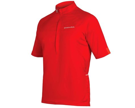 Endura Xtract II Short Sleeve Jersey (Red) (L)