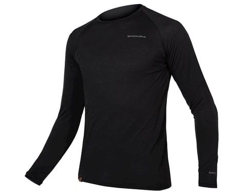 Endura BaaBaa Blend Long Sleeve Base Layer (Black) (M)