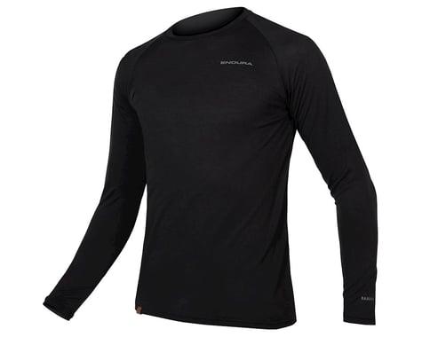 Endura BaaBaa Blend Long Sleeve Baselayer (Black) (XL)