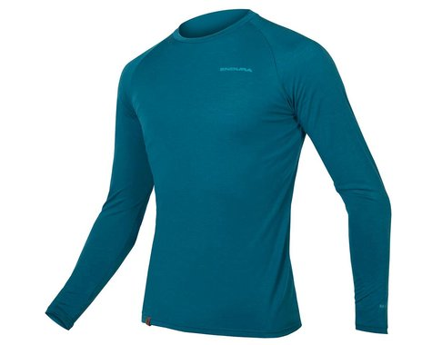 Endura BaaBaa Blend Long Sleve Baselayer (Kingfisher) (S)