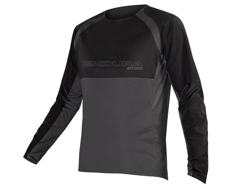 Endura MT500 Burner Long Sleeve Jersey II (Black) (S)