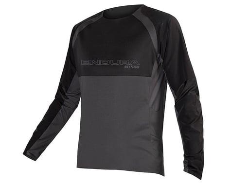 Endura MT500 Burner Long Sleeve Jersey II (Black) (2XL)