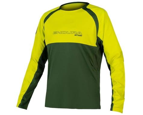 Endura MT500 Burner Long Sleeve Jersey II (Forest Green) (S)