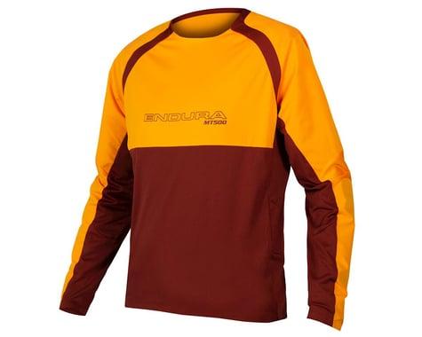 Endura MT500 Burner Long Sleeve Jersey II (Tangerine) (S)