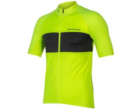 Endura FS260-Pro Short Sleeve Jersey II (Hi-Viz Yellow) (L)