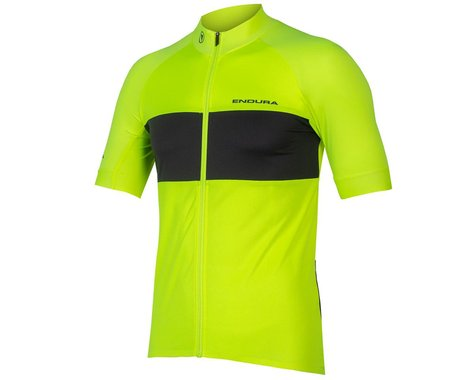 Endura FS260-Pro Short Sleeve Jersey II (Hi-Viz Yellow) (XL)