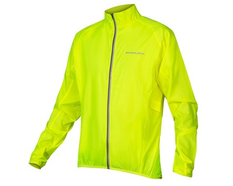 Endura Pakajak Jacket (Hi-Viz Yellow) (2XL)