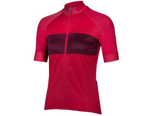Endura Women's FS260-Pro Short Sleeve Jersey (Berry) (M)