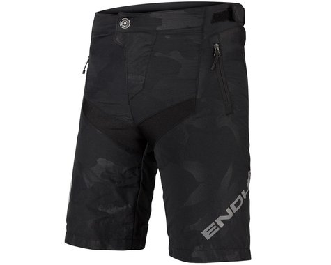 Endura Kids MT500JR Short (Black Camo) (w/ Liner) (Kids S)