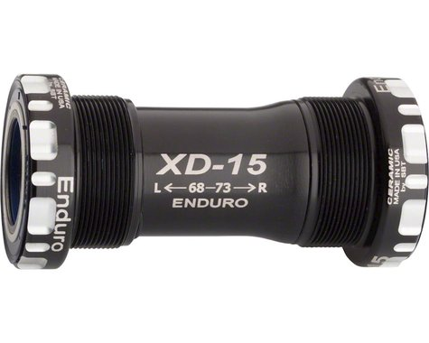 Enduro XD-15 Corsa Ceramic Mountain Bottom Bracket (Black) (BSA) (68/73mm)