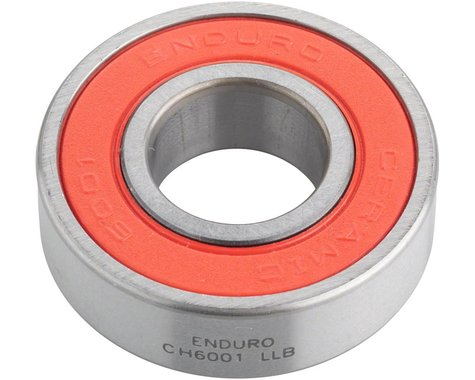 Enduro Ceramic Hybrid 6001 LLB Sealed Cartridge Bearing