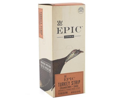 Epic Provisions Turkey Cranberry Sage Snack Strip (20 0.80oz Packets)