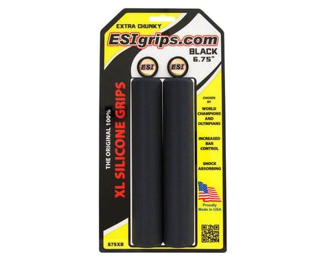 """ESI Grips ESI XL 6.75"""" Extra Chunky Grips (Black)"""