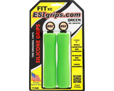 ESI Grips FIT XC Grips (Green)