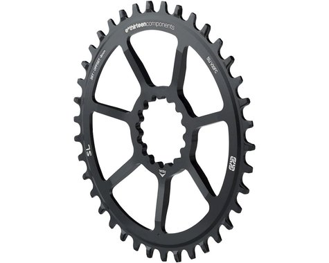 e*thirteen Direct Mount SL Guide Ring, 8/9/10/11/12 speed, 38t Narrow Wide, Blac