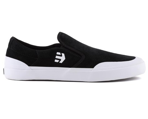 Etnies Marana Slip XLT Flat Pedal Shoes (Black/White) (10.5)