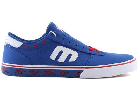 Etnies Calli Vulc X Rad Flat Pedal Shoes (Blue/Red/White) (10)