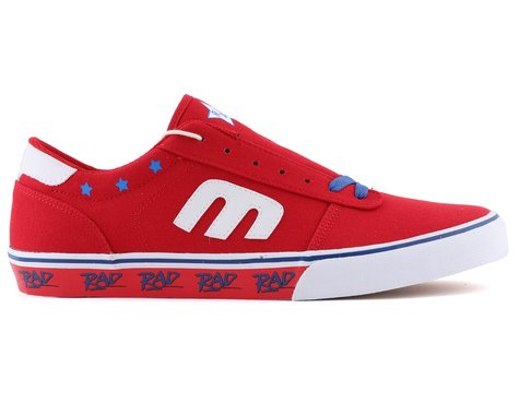 Etnies Calli Vulc X Rad Flat Pedal Shoes (Red/White/Blue)