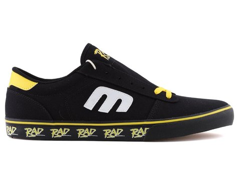 Etnies Calli Vulc X Rad Flat Pedal Shoes (Black/Yellow)