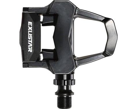 """Exustar PR15 Pedals - Single Sided Clipless , Aluminum, 9/16"""", Black"""