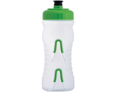 Fabric Cageless Water Bottle (Clear/Green) (600ml)