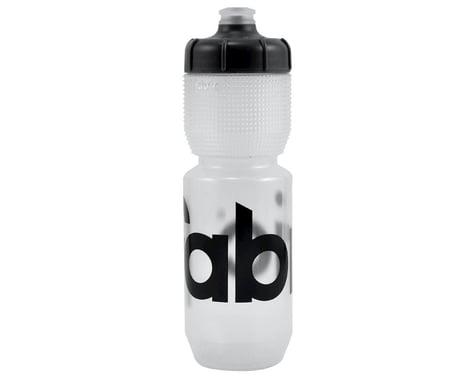 Fabric Gripper Water Bottle (Clear/Black) (750ml)