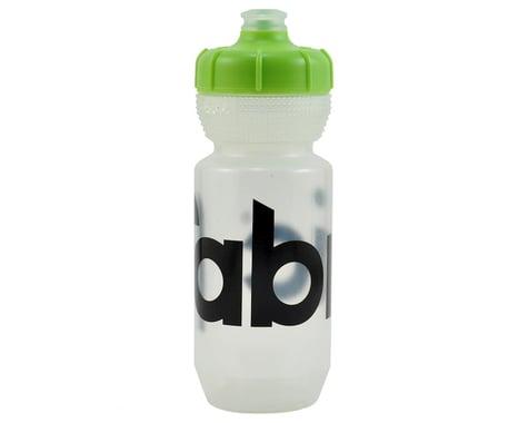 Fabric Gripper Water Bottle (Clear/Green) (600ml)