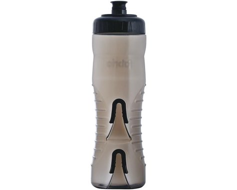 Fabric Cageless Water Bottle (Black/Black) (750ml)